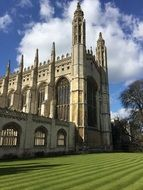 Historical Kings College University in England
