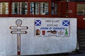 john o'grouts is a British tourist route