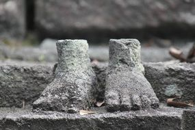 Temple Ancient Feet History