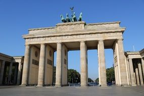 brandenburg gate is a symbol of berlin