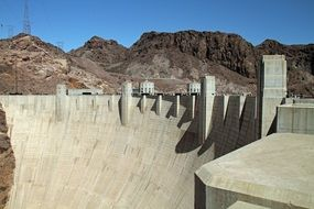 Hoover Dam is a large-scale structure
