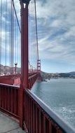 view from the golden gate bridge