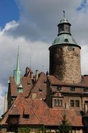 towers of the old Polish castle