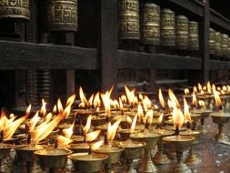 Candles Temple