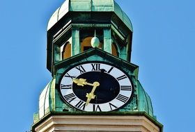 Clock Tower in old town