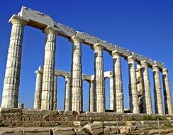 Greece Poseidon Temple Ancient