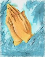 hands of a prayer
