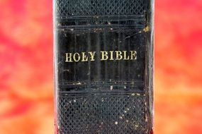 holy scripture is like a thick book