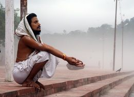 Male prayer for Hinduism