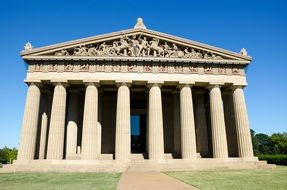The Parthenon Nashville Tennessee America
