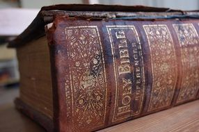 old bible as antiques