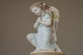 angel figurine as decoration