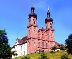 Baroque church in Glottertal, Germany
