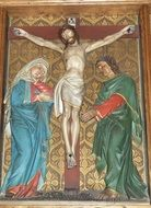 relief of crucified Christ