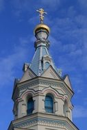 church tower in Daugavpils