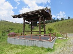 Buddhist Temple on a hill