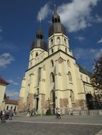 Picture of the church in Trnava