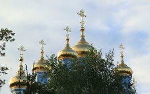 golf church domes in Daugavpils