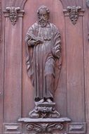 Apostle at the door to the church in Wolfenbüttel