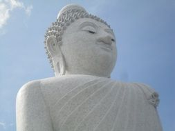 Big White Buddha Statue in Phuket, Thailand