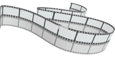 curved Filmstrip with mirroring, drawing