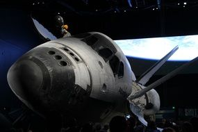 Atlantis Space Shuttle Space