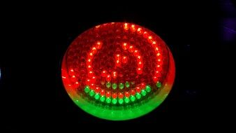 red-green LED
