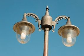 lamp post with lamps