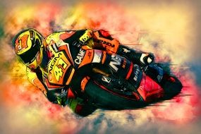 Bike Motorcycle Racer Speed