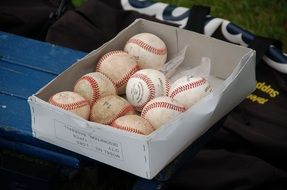 Baseball Ball Box