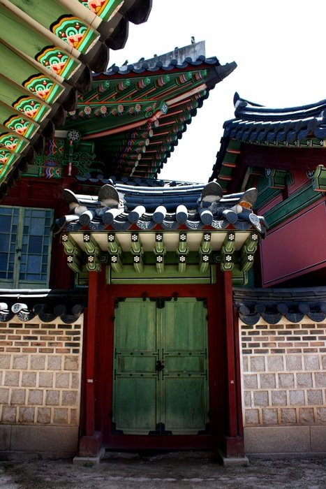 Historical palace in Korea