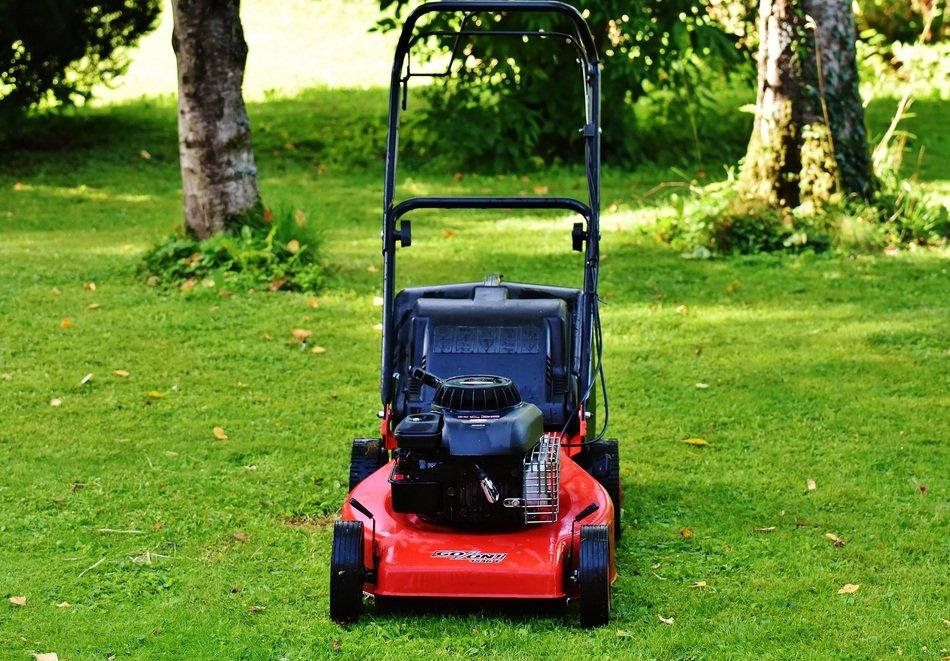 lawnmower for gardening