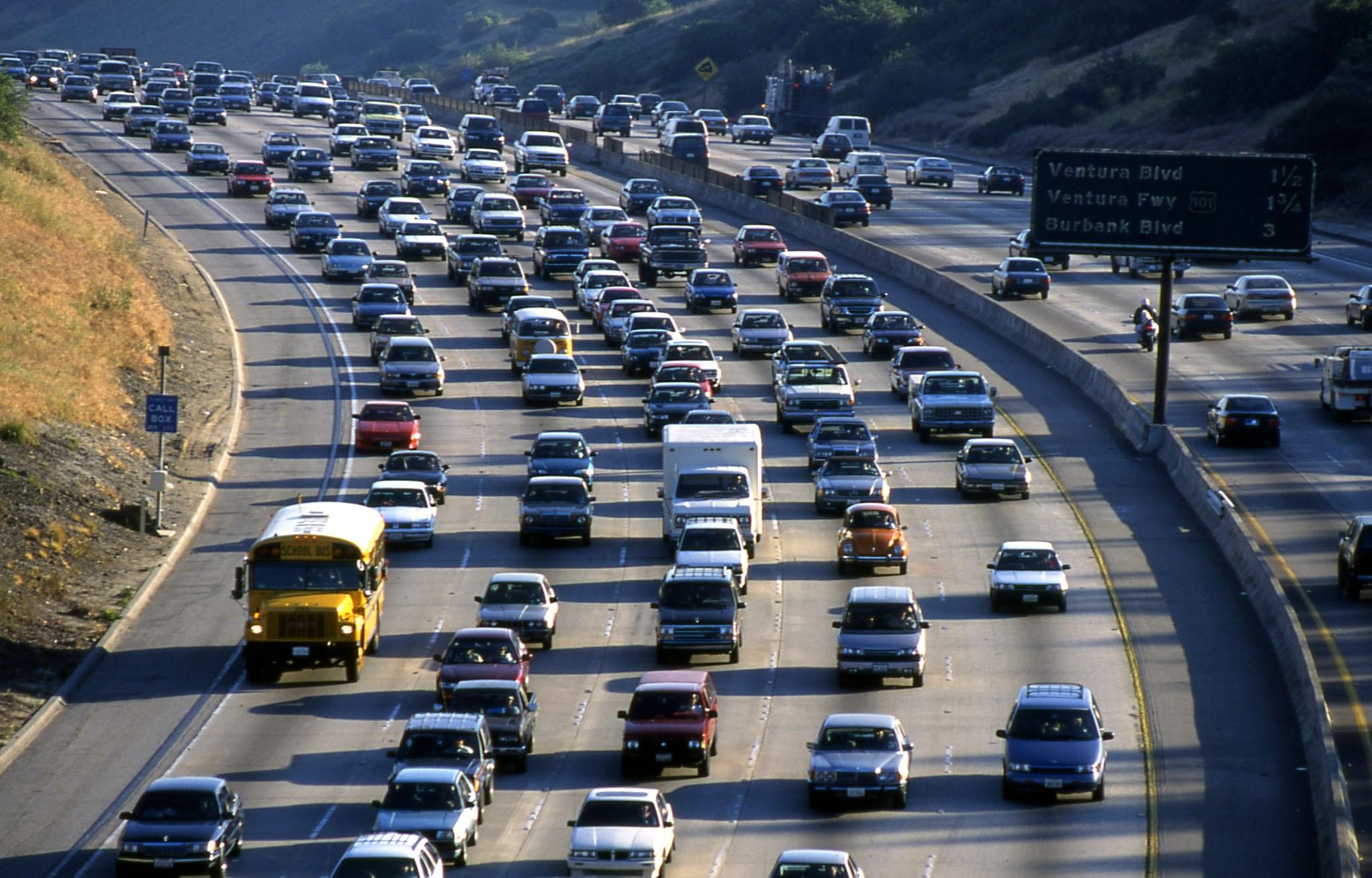 Resultado de imagen para california traffic