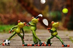 funny frogs athletes