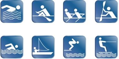 Sport Pictogram drawing