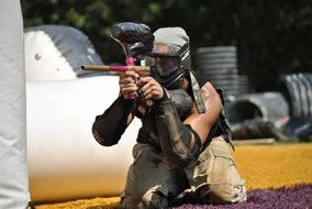 paintball is an extreme sport