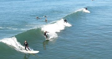 Surf Waves california
