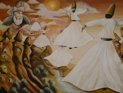dance of whirling dervishes