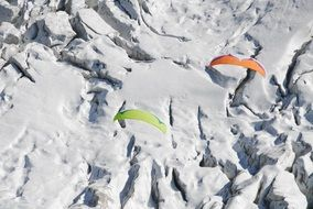 paragliding as an active sport