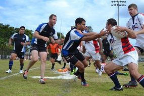 Rugby Tackle Competition