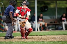 catcher in baseball