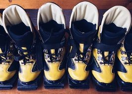 leather ski boots