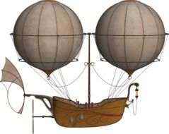 Clipart of Air Ship