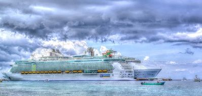 Cruise Ship Sea