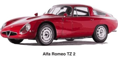 Clipart of red Alfa Romeo