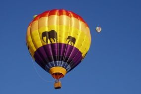hot air ball festival in New Mexico
