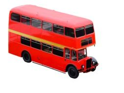 clipart of the red double decker bus