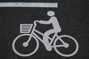 Bike Road Signs drawing