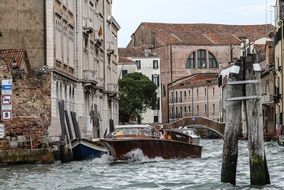 Picture of Water Taxi in Venice