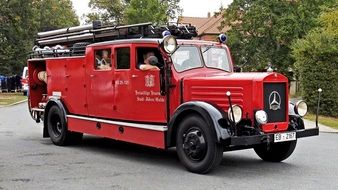 fire engine of a 1936